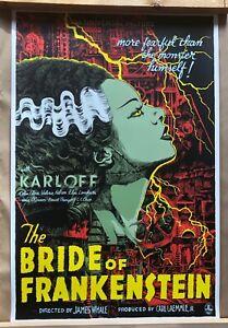 Bride Of Frankenstein - Mondo Poster Print Francesco Francavilla