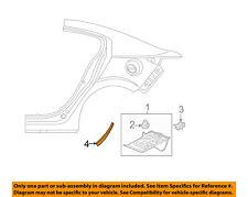 MAZDA OEM 14-15 3 Exterior-Stone Deflector Guard Right BHS2504P2