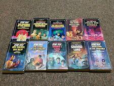 STAR TREK vintage 10 books 4, 12 14,16, 18, 19, 21, 22, 25, 26 from the 1980's