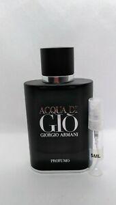 Aqua Di Gio Profumo Parfum 5 ml sample