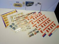 Canada Stamp Sheets and Blocks Lot FV $59.26