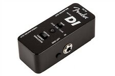 Fender Micro DI Direct Box Effects Pedal/Stomp Box for Guitar/Bass 023-4513-000