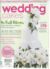 WEDDING CAKES A DESIGN SOURCE Magazine #64 AUTUMN 2017,OVER 170 FREASH IDEAS