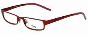 Dolce & Gabbana Designer Reading Glasses DG5008-107 in Red 50mm