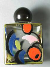 Ida Paulin Parfum Flacon Art Deco  bemalt Wiener Werkstätte