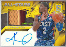 2013-14 SPECTRA ALL-STARS PATCH AUTO: KYRIE IRVING #2/10 AUTOGRAPH JERSEY NO.1/1