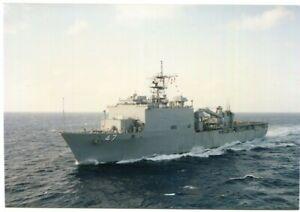 D138663 USS Rushmore (LSD-47) Professional Maritime Photo - Somalia 1/93