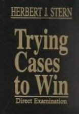 Trying Cases to Win, Stern, Herbert J., Good Book