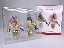 Hallmark Keepsake Ornament Twelve Days of Christmas Partridge & Turtle Doves