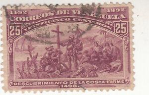 Venezuela 1893. Columbian Exposition Commemorative. SG #168. Used.