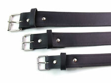Accessoires noirs en cuir pour homme taille XL