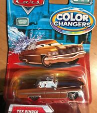 DISNEY CARS MODELLINI: TEX DINOCO COLOR CHANGERS