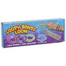 Zinzin bandz loom band kit 600 bandes Board Tool & 25 Crochets de faire des bracelets