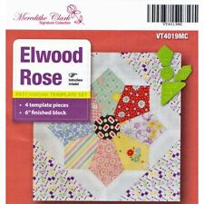 Matildas Own Elwood Rose Patchwork Template Set