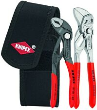 Knipex 2pc Mini Cobra Pliers Wrench Set In Belt Pouch 002072 V01