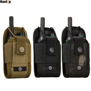 Tactical Radio Pouch Outdoor Molle Bag Belt Holder Holster Bag for Walkie Talkie
