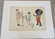Florence Upton Antique 1896 Longmans Green & Co Mounted Print