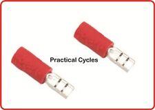 COPPIA cavi connettori per Bicicletta Dynamo e luce fili isolati buono per B&M