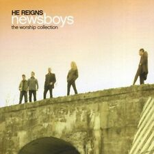 HE REIGNS: WORSHIP COLLECTION CD NEWSBOYS NEW SEALED