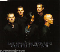 EAST 17 ft GABRIELLE - If You Ever (UK 4 Trk CD Single)