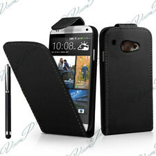 HTC Desire 601 Zara Covers Case Cover Flap Leatherette Stylus Protective Films