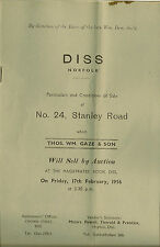 DISS : 1956 24 Stanley Road -sale particulars