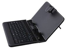 USB Keyboard Case Cover For Amazon Kindle Fire HD 8 Verizon Ellipsis 7 8 Tablet