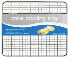 Kitchen Craft cromado de lujo Bandeja de refrigeración Pastel Cuadrado 25cm