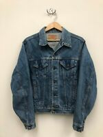 Vintage Mens Levi's Trucker Denim Jacket - Size 46L - 71506-0216 - Made in USA