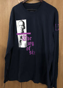 Nike Air Jordan Love 6 Long Sleeve Shirt AT8948-451 Men's Size XL  NWT🔥