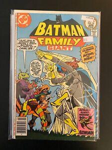 Giant Batman Family 10 Mid Grade DC Comic Book CL59-131