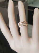Bague en or rose 18 carats diamants 0.50 carat 5.41 gramme 1390€