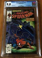 Amazing Spider-Man #305 CGC 9.8 McFarlane Prowler Black Fox APPEARANCE White Pgs