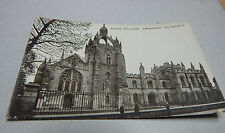 Kings College Aberdeen University unposted Valentine and son  art