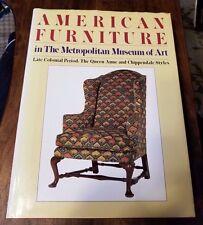 AMERICAN FURNITURE in the Metropolitan Museum of Art Colonial Period BOOK