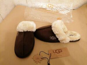 UGG Australia Dark Brown Slippers Size 4