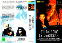 """VHS - """" Stürmische LEIDENSCHAFT ( Wuthering Heights ) """" (1993) Juliette Binoche"""