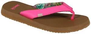 Sanuk Yoga Mat Sandal - Neon Pink - New