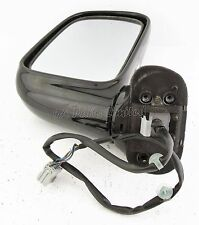8M5/HONDA SHUTTLE RA (94-04) MPV Lado Derecho Eléctrico Climatizada Puerta Espejo Negro