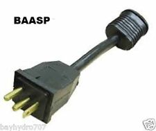 BAASP Lamp Cord Pattern Converter Adapter Sunlight Ballast to HF-Style BAY HYDRO