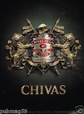 Publicité advertising 2010 Scotch Whisky Chivas Regal