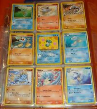 Pokemon Card/Tarjeta 6 Horsea, 3 Seadra Cards (FREE S/H in USA)
