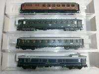 Konvolut 4 Fleischmann Personenwagen 8132K  8675K  8841K  8853K OVP Spur N