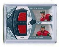 2013-14 UD Rookie Materials #RM2-WILD Coyle Dumba Wild Jersey jh11