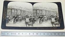 PHOTO STEREOSCOPIQUE 1901 JJ KILLELEA LONDON BANK OF ENGLAND LONDRES