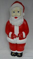 "HTF 39"" Union Don Featherstone Santa Claus Lighted Christmas Blow Mold Outdoor"