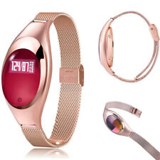 Women Fitness Tracker Smart Watch Wristband Heart Rate Monitor for Samsung S8 S9