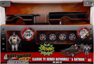 Batman (1966) - Batmobile with Batman Hollywood Rides 1/24th Scale Die-Cast Vehi