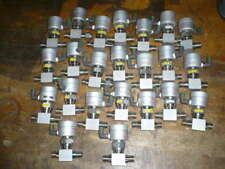 "Fujikin pneumatic valve, 316L stainless, 3/8"" Swagelok, NC, lot of (23)"