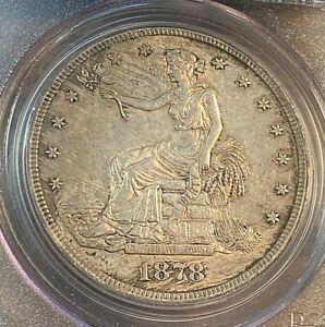 1878-S Trade Dollar PCGS AU53 Original Beauty Best Price on Ebay CHN